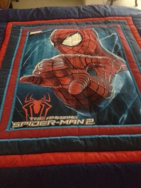 What little man  wouldnt love Spiderman  in his bedroom , it is single bed  $150.00