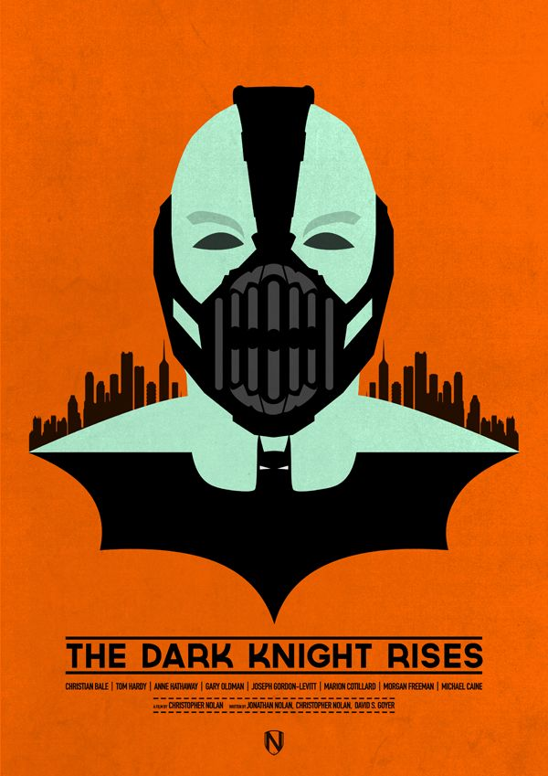 Can't wait for this film! Gotta love this design!: The Dark Knights, Needledesign, Knights Rise, Batman, Balloon, Matte Needle, Needle Design, Android App, Minimal Movie Posters