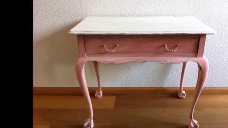 Annie Sloan krijtverf Scandinavian Pink voorbeeld