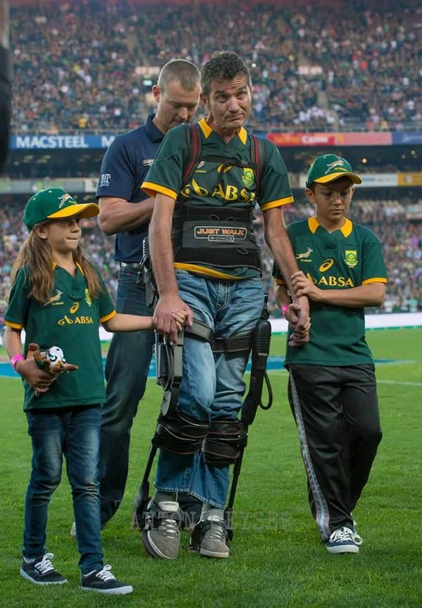 A legend: Joost van der Westhuizen (South Africa)