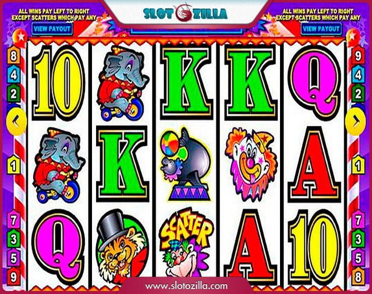 Big Top free #slot_machine #game presented by www.Slotozilla.com - World's biggest source of #free_slots where you can play slots for fun, free of charge, instantly online (no download or registration required) . So, spin some reels at Slotozilla! Big Top slots direct link: http://www.slotozilla.com/free-slots/big-top