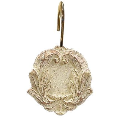 Carnation Home Fashions Victorian Shower Curtain Hooks