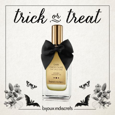 No #tricks… just the most delightful treat for Halloween: a sensual massage with a golden glow and the sweet taste of caramel. What an exciting and delicious spell!  #sexy #halloween #lovemeetspassion   http://shop.bijouxindiscrets.com/en/bijoux-cosmetiques/169-sunset-glow-massage-oil-8437008001692.html