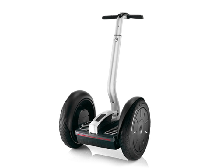 I randomly just want to ride on a Segway. Yep, I would defiantly try to ride one. :)