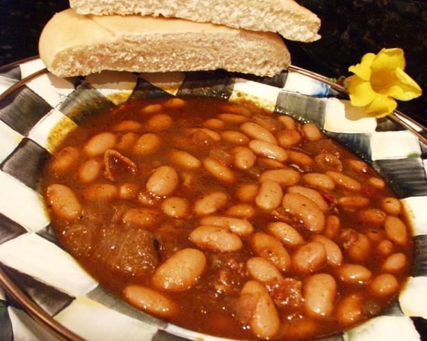 Smoky Baked Beans (Originally Canary Baked Beans) - made with 4 ounces ...