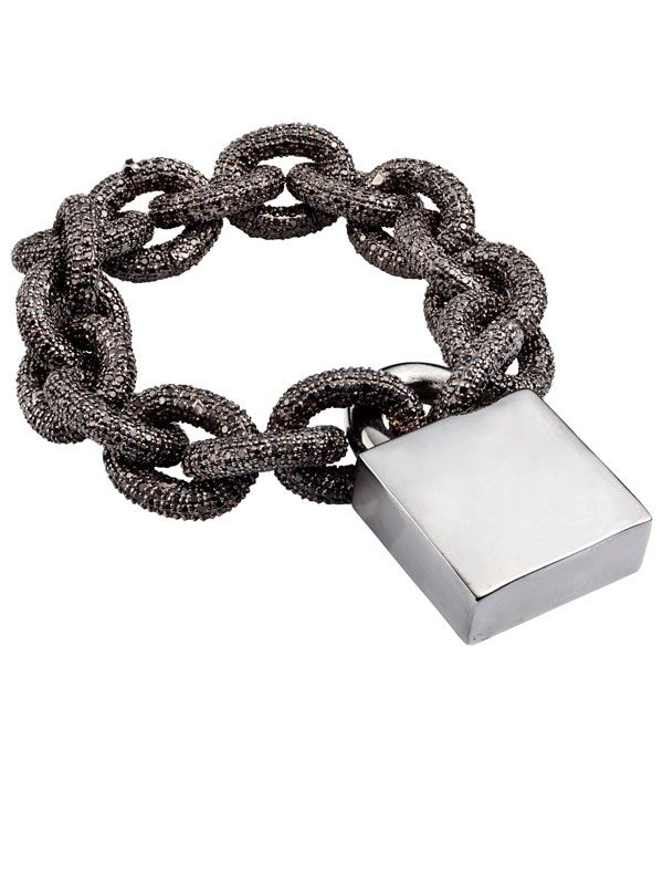 Eddie Borgo bracelet, $1,375, eddieborgo.com.   - HarpersBAZAAR.com