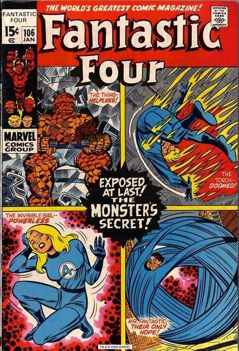 Fantastic Four #106, Art: Jack Kirby
