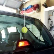 25 best parking aids images on pinterest garage garage house and perfect garage parking aid a tennis ball on a string solutioingenieria Choice Image