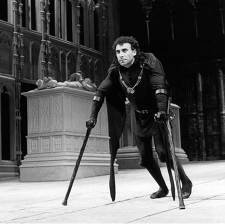 Antony Sher 1984 RSC  I saw his Richard III when it came to Adelaide.