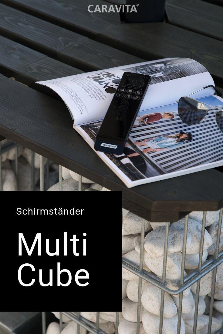 Der Multicube Von Caravita Verwandelt Den Schirmstander In Eine