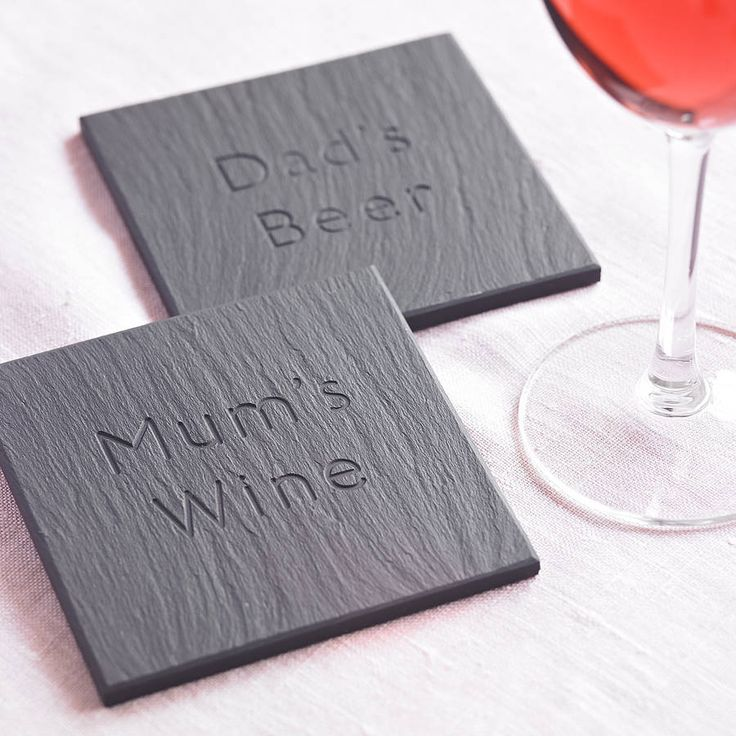 Best 25 slate coasters ideas on pinterest comic book rooms comic book paper and diy - Slate drink coasters ...