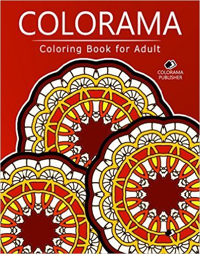 Colorama Coloring Book For Adult Stress Relieving Patterns Publishing