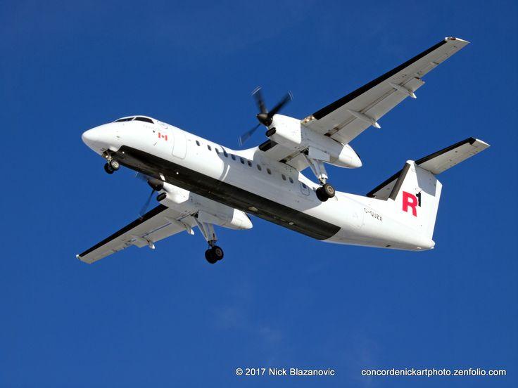 https://flic.kr/p/RECPkQ | Regional 1 De Havilland Canada DHC-8-311Q Dash 8 | A De Havilland Canada DHC-8-311Q Dash 8 flying for Regional 1 on final approach to CYWG / Winnipeg.