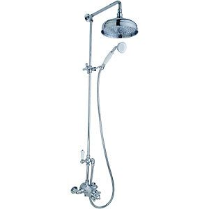Wickes Enchanted Thermostatic Shower Mixer With 8in Shower