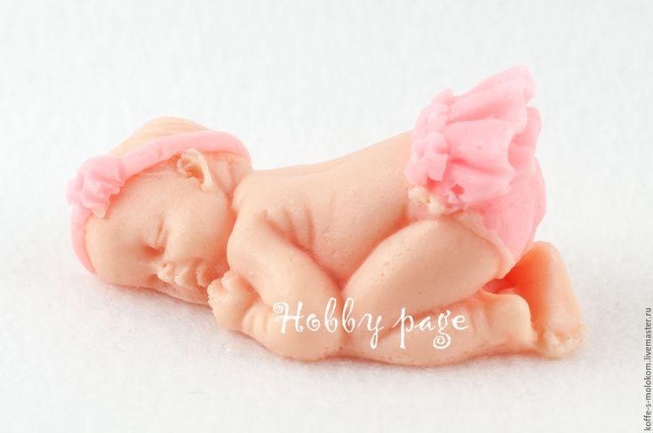 Купить Силиконовая форма для мыла Малыш в юбочке - формы для мыла, формы для пластики