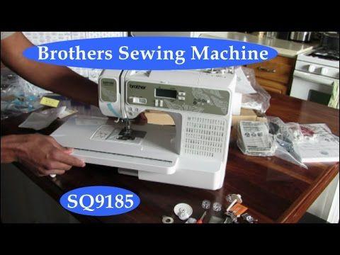 sewing machine sq9185 reviews