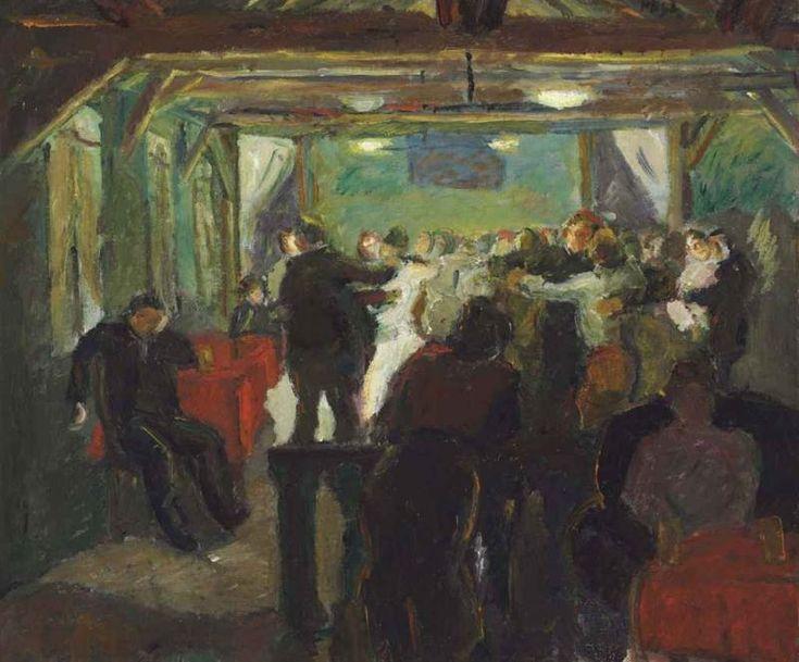 Max Beckmann - Tanzlokal (1909)