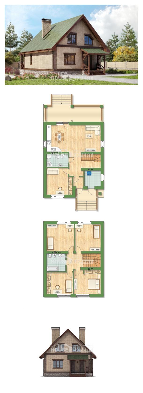 Ev villa projesi 160 011 R House Expert
