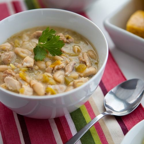 48 best plate it up in style images on pinterest plate style and find this pin and more on plate it up in style by escoffieronline crock pot white chicken chili recipe forumfinder Gallery
