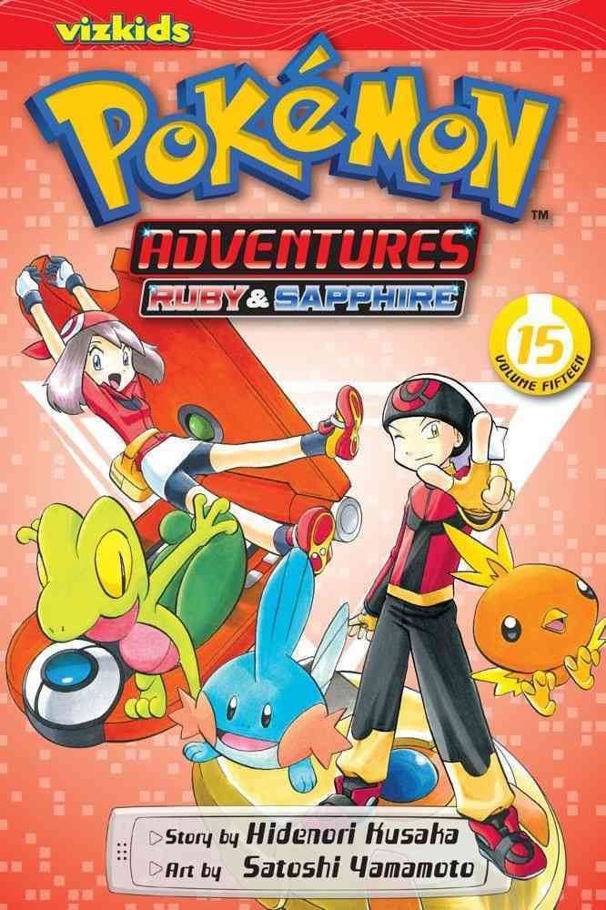 Adventures inspired by the best-selling Pokemon video games! All your favorite Pokemon game characters jump out of the screen into the pages of this action-packed manga! Reads R to L (Japanese Style)