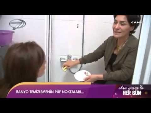 Meltem Açıkel Banyo Temizliği - YouTube