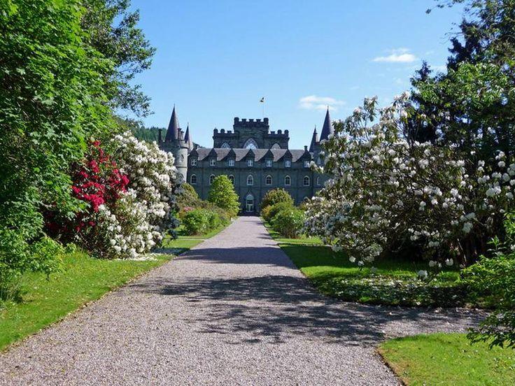 Inveraray Castle – интересный средневековый замок Шотландии   РОЗЫ