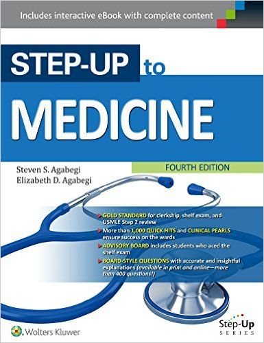 Step-Up to Medicine 4th Edition PDF