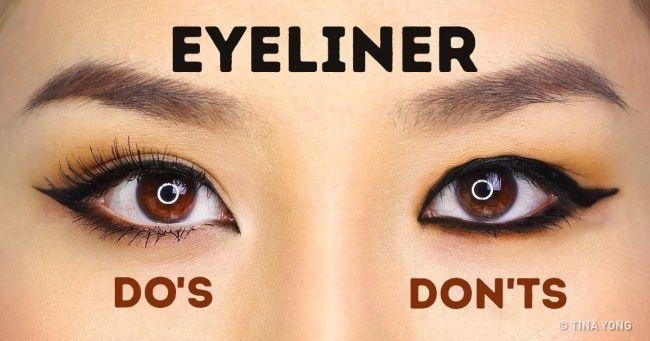 How toApply Eyeliner Perfectly Based OnYour Eye Shape