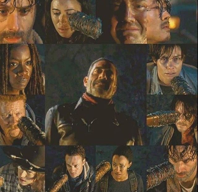The Walking Dead #WhoIsIt