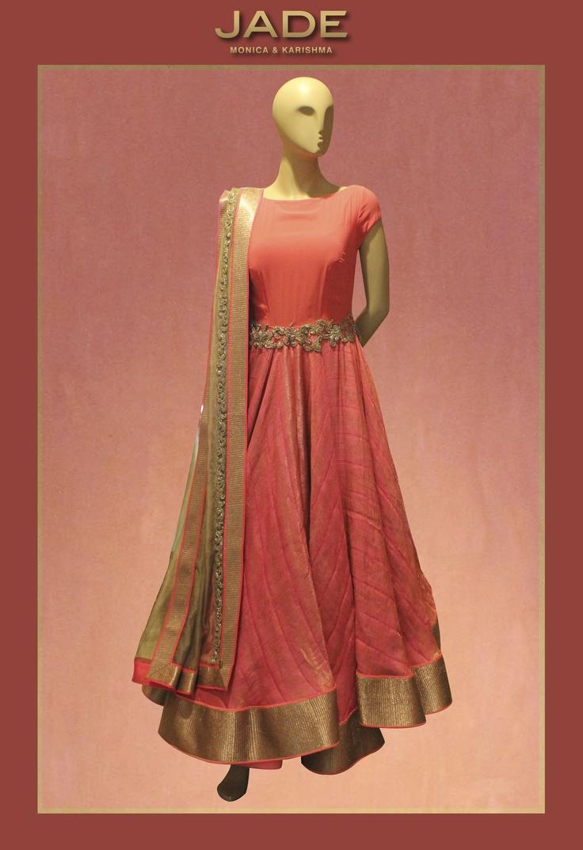 Perfect for a Modern-Day Princess! #JADEbyMK #India #style #anarkali #princess