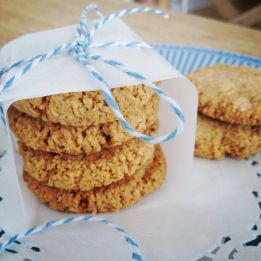 Ginger and Maple Biscuits