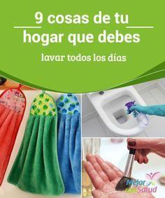 9 cosas de tu #hogar que debes lavar todos los días  Puesto que el ambiente húmedo favorece la #proliferación de #bacterias y otros #microorganismos deberíamos limpiar y desinfectar el #inodoro a diario para evitar la aparición de #hongos y otros problemas #Curiosidades