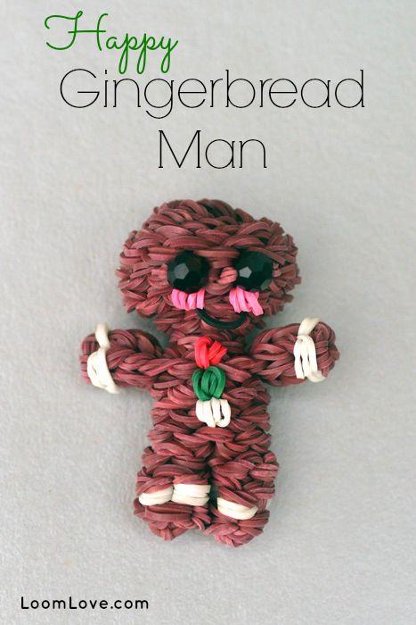 Loom Bands – Gingerbread Man