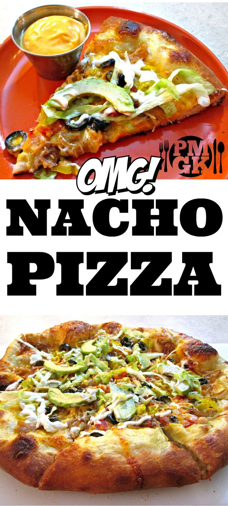Nacho Pizza Recipe - If you love Pizza and you love Nachos, why not combine them and make the ultimate Nacho Pizza with all of your favorite toppings.  Watch the video tutorial and I'll show you how easy it is to make this Pizza Pie!  Poor Man's Gourmet Kitchen