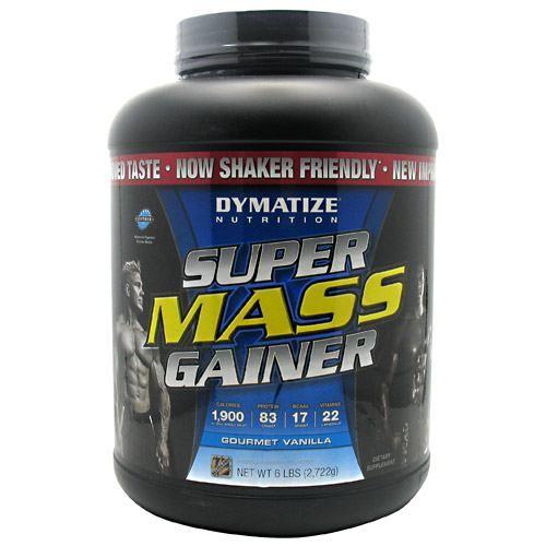 Dymatize Super Mass Gainer Gourmet Vanilla - 6 lbs (2,722g) #fitness #healthy #health #sports #fitnessmodel #gym