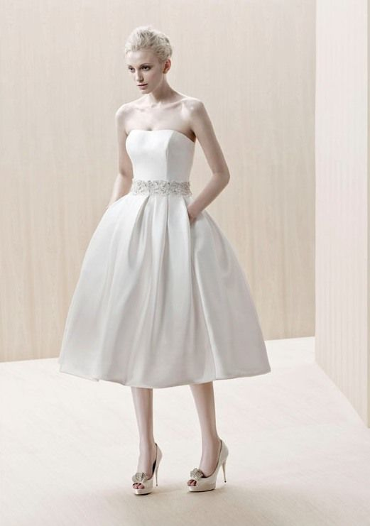 1000  images about Tea Length Wedding Dresses on Pinterest ...