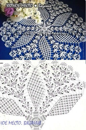 crochet lace pattern  <3 Deniz <3