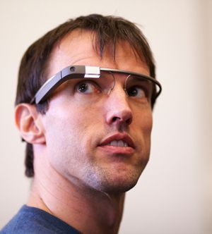Google Glass.  The leader in wearable technology.  Let's see how much this changes mobile advertising.