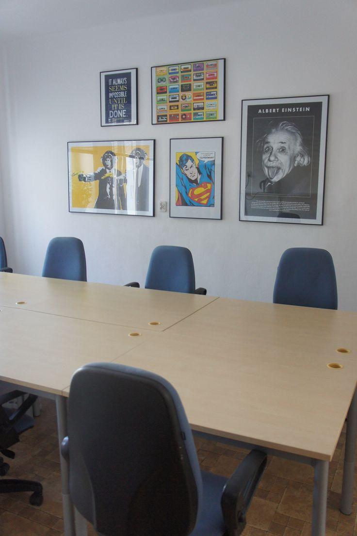 #openspace #martela #einstein #monkeys #posters #superman #iteo #developers #HQ #office