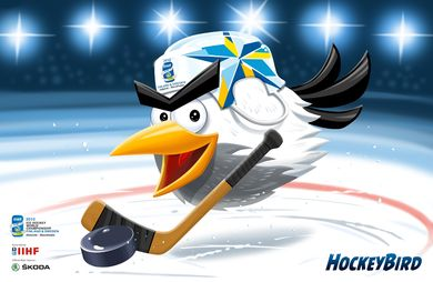 Finland hosting Ice Hockey World Championship of Ice Hockey with Sweden in 2012 and 2013. Mascot is called Hockey Bird
