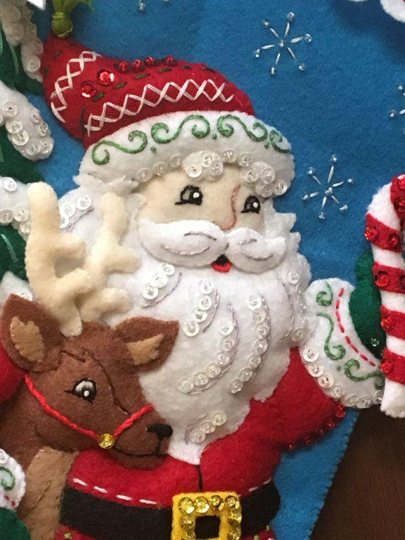 Nórdicos Santa Bucilla sentía media de la por MonkeyGrassDesigns