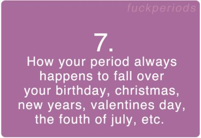 Period Problem #7 don't forget during SERE school.. That was fun. NOT!!!