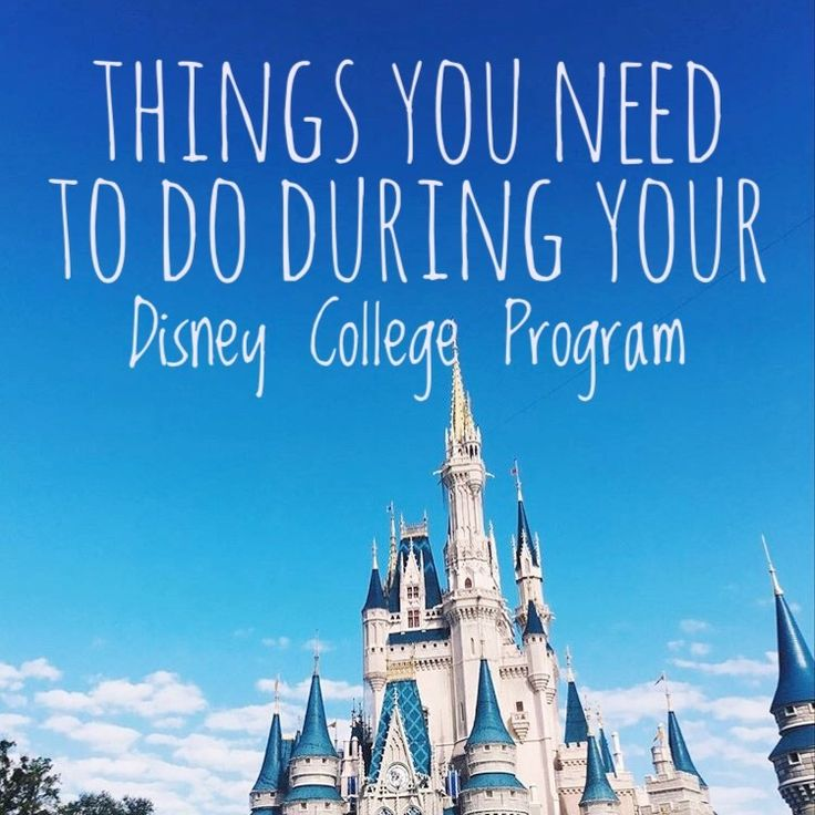 "As someone who is an alumni of the Disney College Program, I have heard my fair share of ""must-do"" lists, but they were always generic an..."