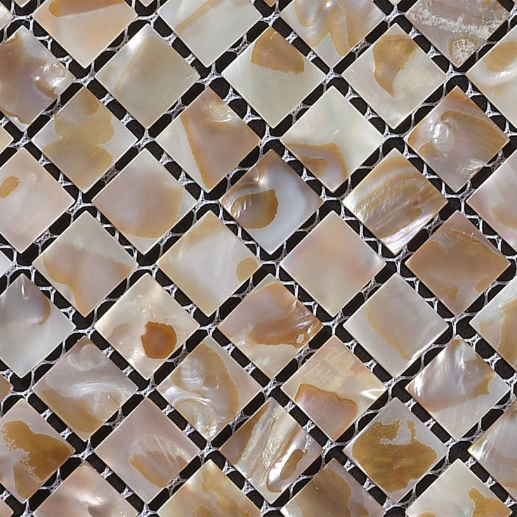 mother of pearl mosaic tiles kitchen backsplash