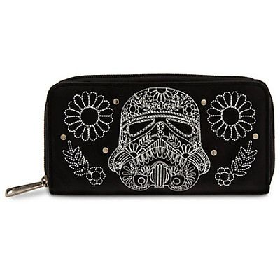 Disney STORE STORMTROOPER Wallet by LOUNGEFLY Star Wars NEW