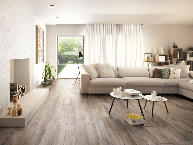 This Realistic Wood Look Tile Has Been A Customer Favourite Lately TileModern Living Room