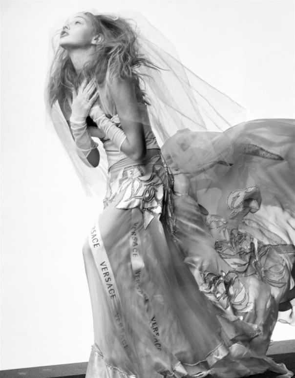 Sasha Pivovarova by Craig McDean for Vogue Paris