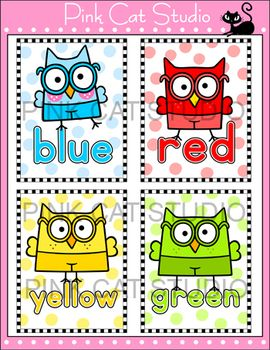 Colors Posters - Smarty Pants Owl Theme
