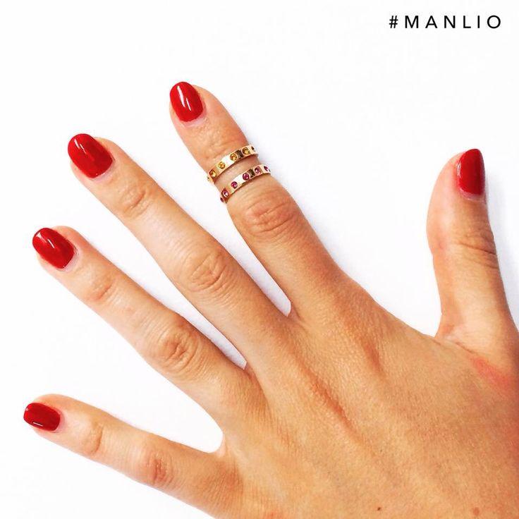 Doppio anello da falange €96 -30%= €67  #manlioboutique  Per spedizioni  WhatsApp  329.0010906 #ring #cristal #anello #jewelry
