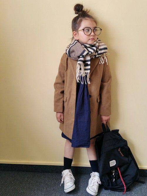 siolér|petit mainのOvercoatを使ったコーディネート